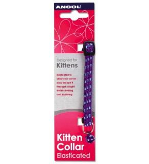 Ancol Kitten Collar Elasticated