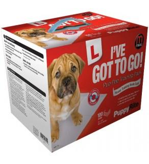 Mikki Pup-pee Pads 100 Pack