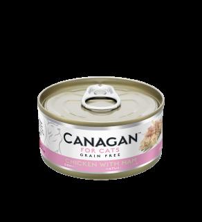 Canagan Wet Chicken with Ham 75g Tin