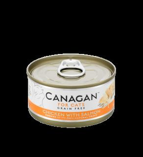 Canagan Wet Chicken with Salmon 75g Tin