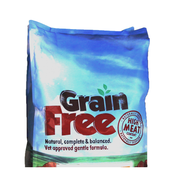 Grain Free Dog Food Burns
