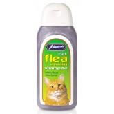 Johnsons Cat Flea Cleansing Shampoo 125ml