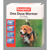 Beaphar (Sherley's) One Dose Wormer Medium Dogs (2 Tab)