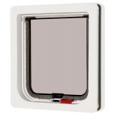 Pet Mate New Lockable Cat Flap - White