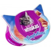 Whiskas Temptations Salmon 60g