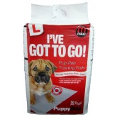 Mikki Pup-pee Pads 50 Pack