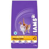Iams Cat Kitten & Junior 2.55kg