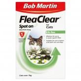 Bob Martin Flea Clear Cat Spot On 1 Tube