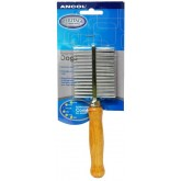 Ancol Double Sided Wood Handle Comb