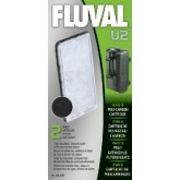 Fluval U2 Poly/carbon Cartridge (2pcs)