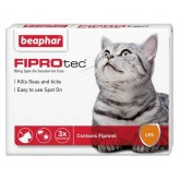 Beaphar Fiprotec Spot On Cat 3 Treatment