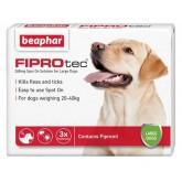 Beaphar Fiprotec Spot On Large Dog 3 Treatment