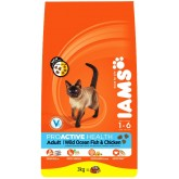 Iams Cat Adult Rich In Ocean Fish 3kg