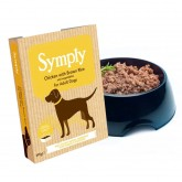 Symply Wet Chicken with Brown Rice 395g