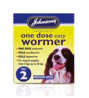 Johnsons Easy Dose Wormer - Size 2