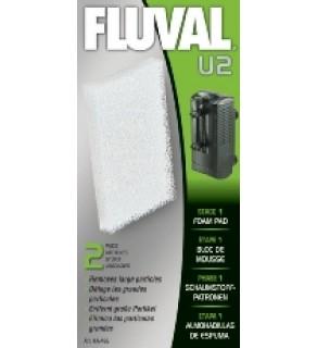 Fluval U2 Filter Foam Pad (2pcs)