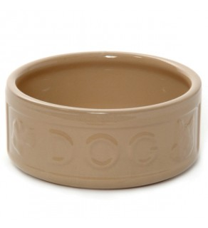 "All Cane Lettered Dog Bowl 13cm (5"")"