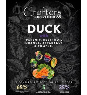 Crofters Superfood 65 Duck  2kg