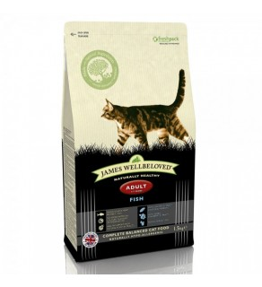 James Wellbeloved Cat Food Adult  Fish & Rice 1.5kg