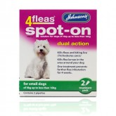 Johnsons 4fleas Spot-on Small Dog 2 Vial Pack