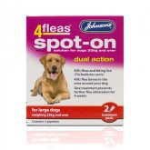 Johnsons 4fleas Spot-on Large Dog 2 Vial Pack