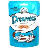 Dreamies Cat Treats 60g Salmon