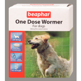 Beaphar (Sherley's) One Dose Wormer Large Dog (4 Tab)