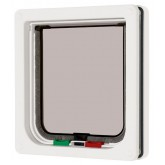 Pet Mate 4-way Locking Cat Flap - White