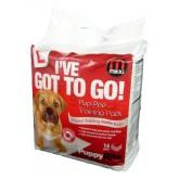 Mikki Pup-pee Pads 14 Pack