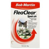 Bob Martin Flea Clear Cat Spot On 3 Tube