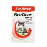 Bob Martin Flea Clear Cat Spot On 2 Tube