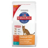 Hills Feline Adult Optimal Care Tuna 2kg