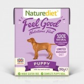 Naturediet Feel Good Puppy 390g