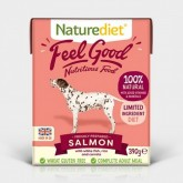 Naturediet Feel Good Salmon 390g