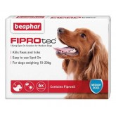 Beaphar FIPROtec Spot-On Solution for Medium Dogs 6 Treatment