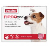 Beaphar FIPROtec Spot-On Solution for Small Dogs 3 treatment