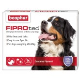 Beaphar Fiprotec Spot On Extra Large Dog 1 Treatment