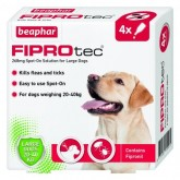 Beaphar Fiprotec Spot On Large Dog 4 Treatment
