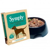 Symply Wet Ocean Fish with Brown Rice 395g