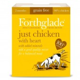 Forthglade Just Dog Grain Free Chicken With Heart  395g