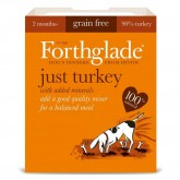 Forthglade Just Dog Grain Free Turkey 395g