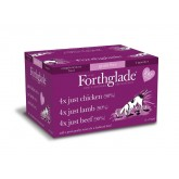 Forthglade Just Dog Grain Free  Multi Pack 12 x 395g