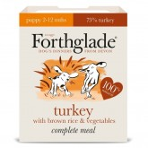 Forthglade Complete Meal Puppy Turkey with brown Rice & Veg 395g