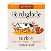 Forthglade Complete Meal Grain Free Adult Turkey Sweet Potato & Veg 395g