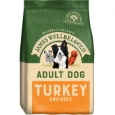 James Wellbeloved Adult Turkey & Rice 2kg