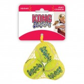 KONG SqueakAir Tennis Balls    Small 3pack
