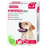 Beaphar Fiprotec Spot On Large Dog 6 Treatment