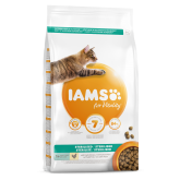 Iams Vitality Light In Fat Sterilised Cat Food With Fresh Chicken 2kg