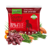 Country Hunter Raw Superfood Nuggets Grass-Fed Beef 1kg