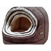 Gor Pets Nordic Hooded Cat Bed   Medium